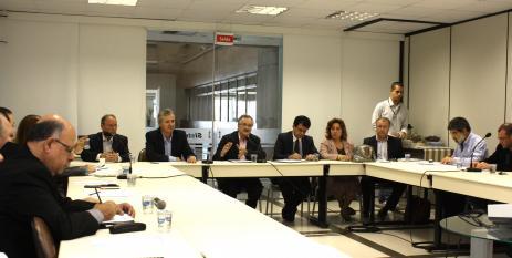 Primeira reunião da Câmara teve a participação de representantes de diversas empresas do setor (foto: Dâmi Radin)
